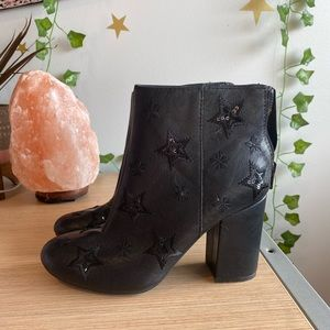 Kenneth Cole never worn star booties